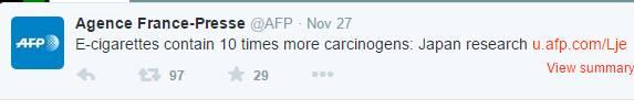 AFP-Tweet