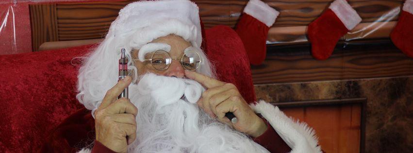 Santa-Vaping