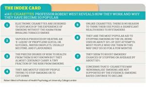 index card e cigarettes