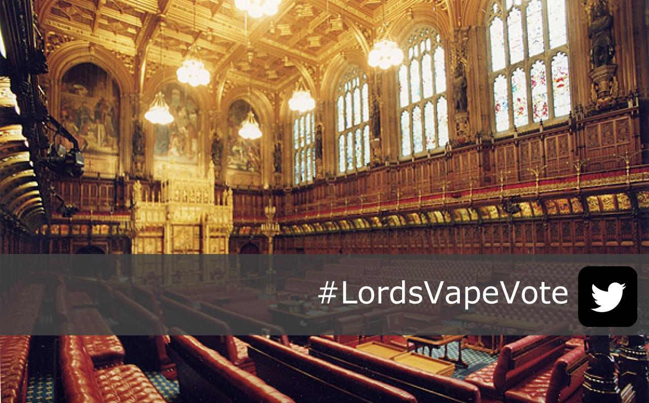 #LordsVapeVote-160519