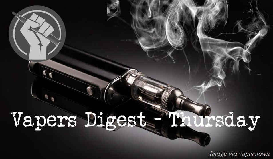 Vapers Digest 19th October